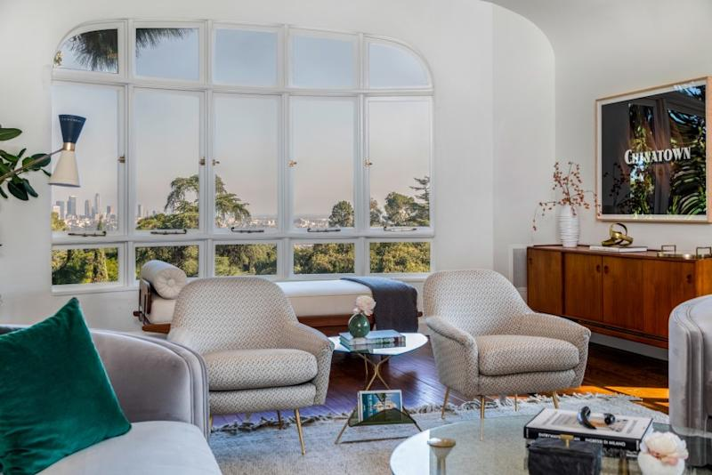 The Mediterranean-style home was built in 1925 for the son of mining tycoon and Griffith Park benefactor Griffith J. Griffith.