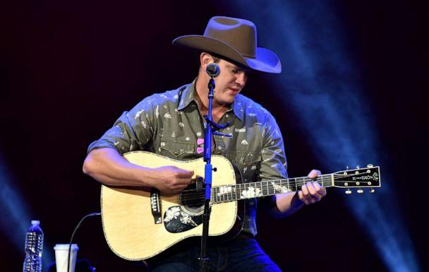 PHOTO: Jon Pardi performs on stage at the Fox Theatre on Nov. 06, 2019, in Detroit. (Aaron J. Thornton/Getty Images, FILE)