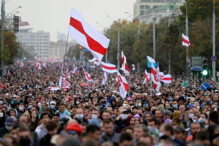 Belarus saw waves of opposition demonstrations after President Alexander Lukashenko was re-elected in a disputed August vote
