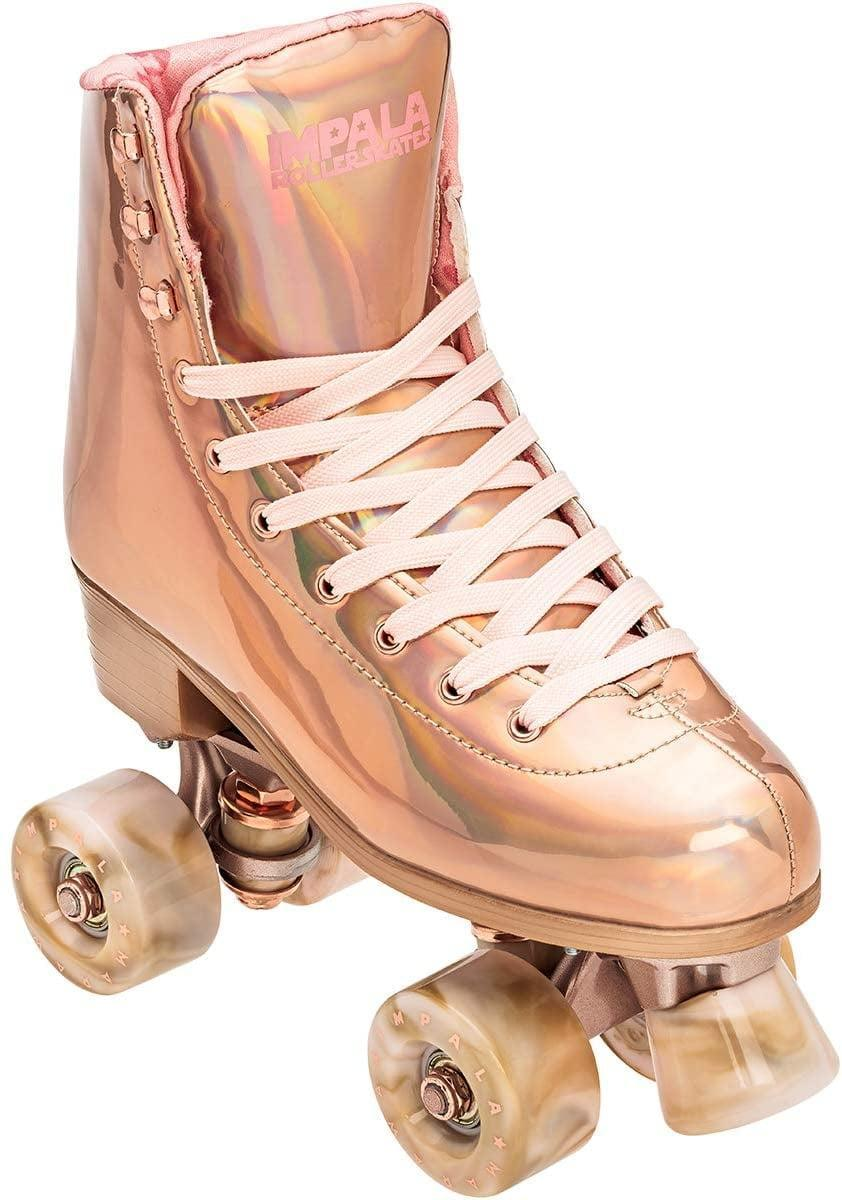 <p>How cool are these <span>Impala Rose Gold Rollerskates</span> ($120)?</p>