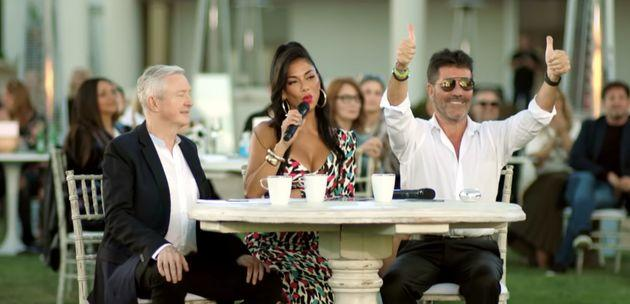Louis Walsh, Nicole Scherzinger and Simon Cowell are back for X Factor: Celebrity