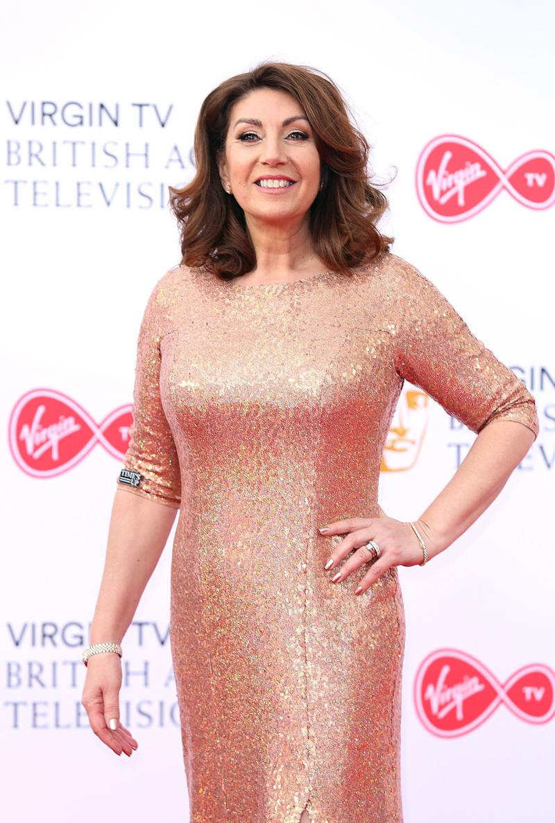 Jane McDonald attending the Virgin TV British Academy Television Awards 2018 held at the Royal Festival Hall, Southbank Centre, London.