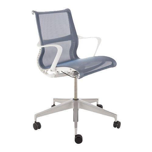 """<p><a class=""""link rapid-noclick-resp"""" href=""""https://go.redirectingat.com?id=127X1599956&url=https%3A%2F%2Fwww.johnlewis.com%2Fherman-miller-setu-multi-purpose-chair%2Fblue%2Fp3109004&sref=https%3A%2F%2Fwww.esquire.com%2Fuk%2Flife%2Fg34670091%2Fhome-office-gifts%2F"""" rel=""""nofollow noopener"""" target=""""_blank"""" data-ylk=""""slk:SHOP"""">SHOP</a></p><p>Unless you want to crawl out of lockdown looking like a complicated fisherman's knot, then you need to consider your posture when working. This chair's kinematic spine bends and flexes as you do, while the elastomeric fabric conforms to your contours to keep you comfortable and supported.</p><p>Herman Miller Setu Multi Purpose Chair, £630, <a href=""""https://go.redirectingat.com?id=127X1599956&url=https%3A%2F%2Fwww.johnlewis.com%2Fherman-miller-setu-multi-purpose-chair%2Fblue%2Fp3109004&sref=https%3A%2F%2Fwww.esquire.com%2Fuk%2Flife%2Fg34670091%2Fhome-office-gifts%2F"""" rel=""""nofollow noopener"""" target=""""_blank"""" data-ylk=""""slk:johnlewis.com"""" class=""""link rapid-noclick-resp"""">johnlewis.com</a></p>"""