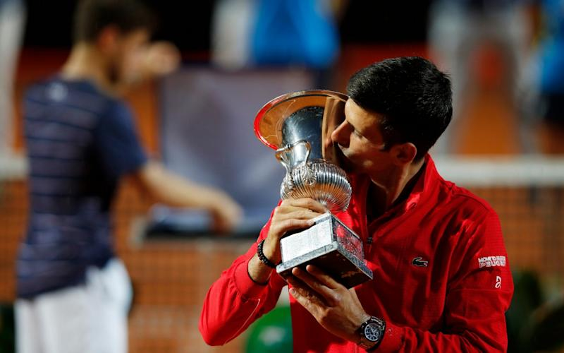 Djokovic warmed up nicely for the French Open with yet another Italian Open crown - GETTY IMAGES