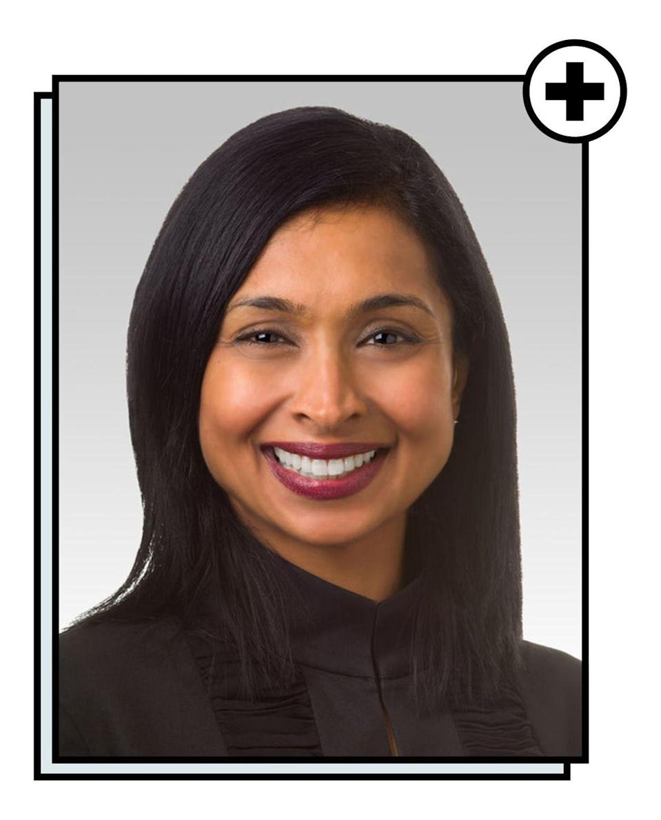 """<p>Angela Chaudhari, MD, is a gynecologic surgeon and assistant professor in Department of Obstetrics and Gynecology at <a href=""""https://www.feinberg.northwestern.edu/"""" rel=""""nofollow noopener"""" target=""""_blank"""" data-ylk=""""slk:Northwestern University's Feinberg School of Medicine"""" class=""""link rapid-noclick-resp"""">Northwestern University's Feinberg School of Medicine</a>. Her clinical and research interests lie in surgical gynecologic conditions such as uterine fibroids, abnormal uterine bleeding, and endometriosis. She is an avid educator, both of patients and students, and she has a passion for wellness and innovation in women's healthcare. Dr. Chaudhari believes that education, preventative care, health advocacy, and gender equity are the keys to improved women's health on a global scale.</p>"""