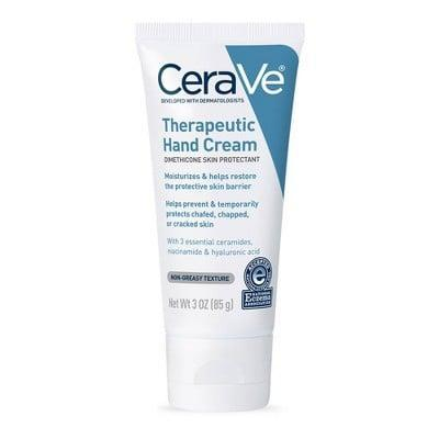 <p>You can't go wrong with this <span>CeraVe Therapeutic Hand Cream</span> ($13).</p>