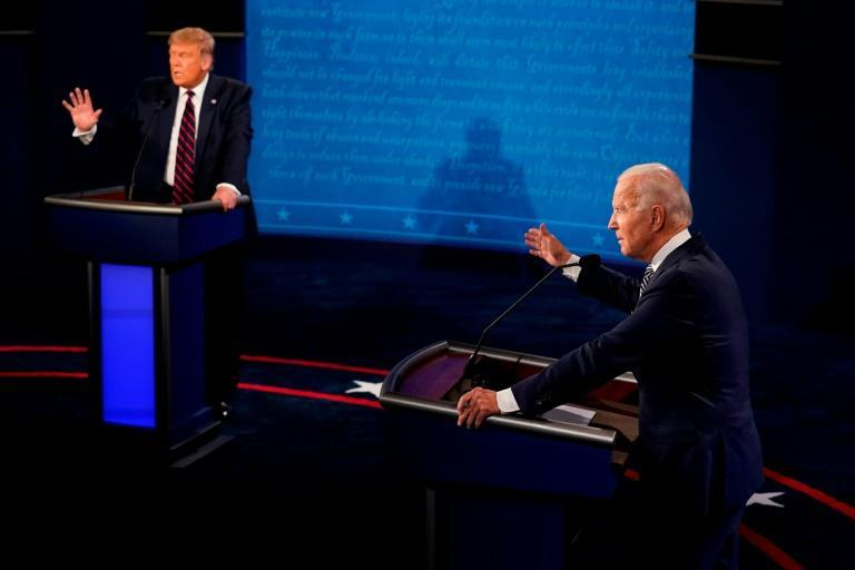 In the September 2020 debate, US President Donald Trump interrupted Joe Biden 71 times, compared to the former vice president's interrupting Trump 22 times