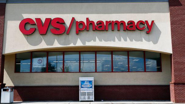 PHOTO: In this Aug. 7, 2018, file photo a CVS Pharmacy building sign rests on a Jackson, Miss., store. (AP)