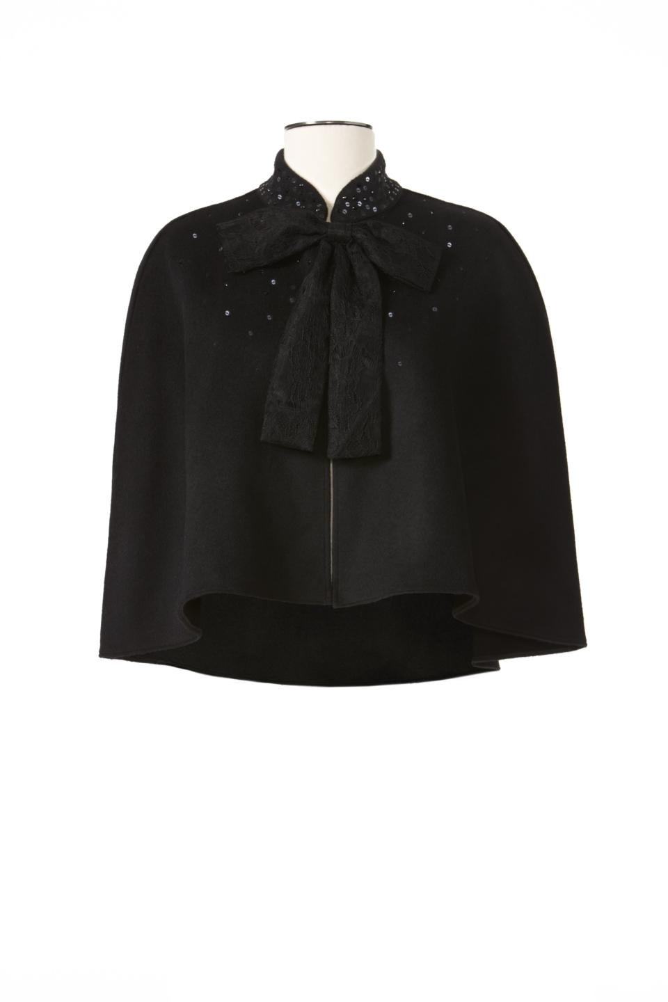 <b>Prabal Gurung for Target + Neiman Marcus Holiday Collection Cape</b><br><br> Price: $79.99<br><br> Size: One size fits most<br><br>