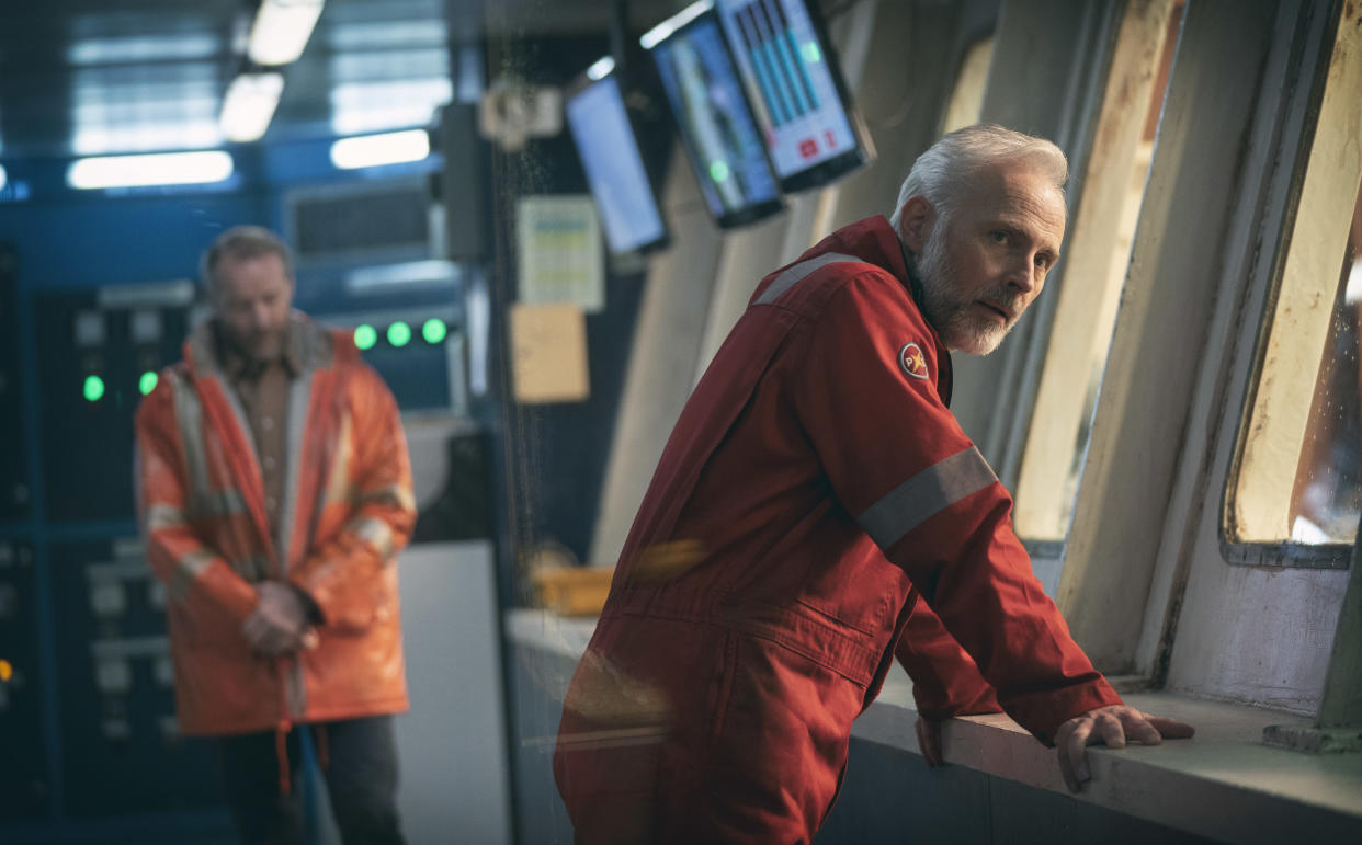 Mark Bonnar is part of the cast on The Rig (Hires Photography/PA)