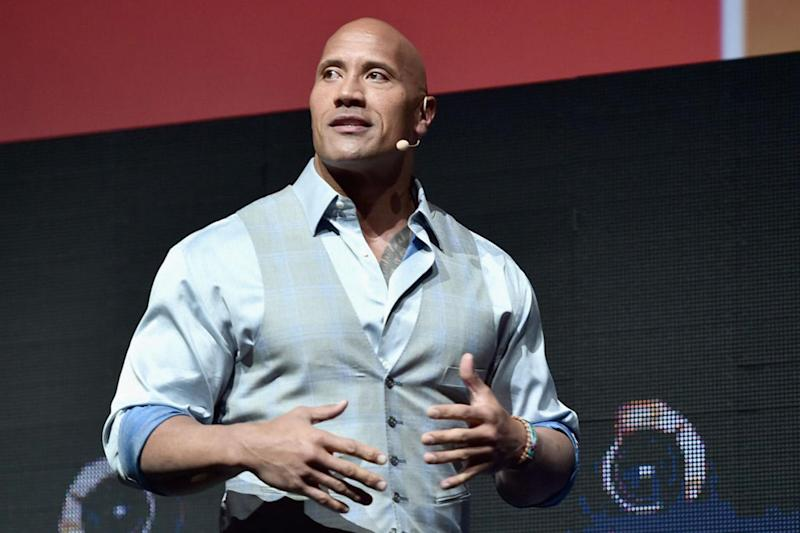 Dwayne Johnson has previously hinted about running for office: Getty