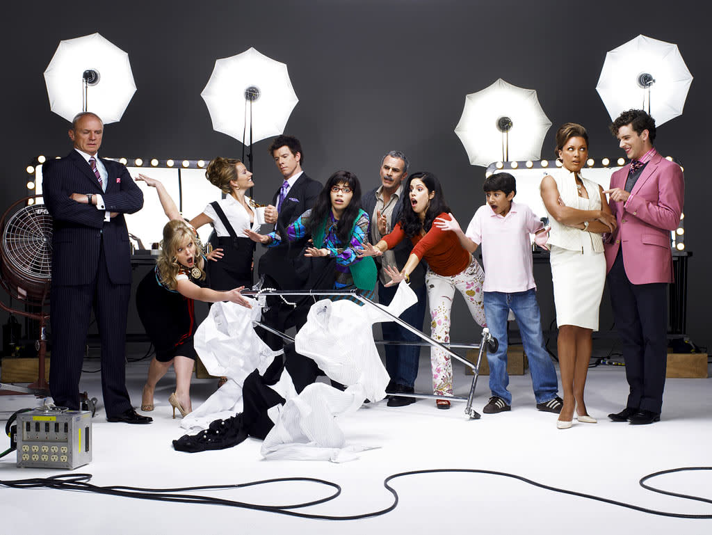 """<a href=""""/ugly-betty/show/35332"""">Ugly Betty</a> receives Best Television Series (Comedy) Golden Globe nomination."""