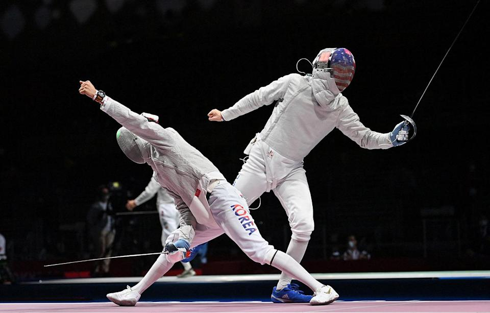 """<p>The Games began with a shaky start for the United States, with <a href=""""https://people.com/sports/tokyo-olympics-team-usa-wins-zero-medals-first-day-summer-games-1972/"""" rel=""""nofollow noopener"""" target=""""_blank"""" data-ylk=""""slk:Team USA"""" class=""""link rapid-noclick-resp"""">Team USA</a> failing to medal entirely on July 24. American athletes competing in archery, cycling, fencing, air rifle and pistol shooting, and weightlifting vied without nabbing a spot on the podium.</p> <p>The opening day went down as the nation's worst start to the Summer Olympics since the 1972 Munich Games, <a href=""""https://www.cnn.com/world/live-news/tokyo-2020-olympics-07-24-21-spt/index.html"""" rel=""""nofollow noopener"""" target=""""_blank"""" data-ylk=""""slk:CNN reported."""" class=""""link rapid-noclick-resp"""">CNN reported.</a></p>"""