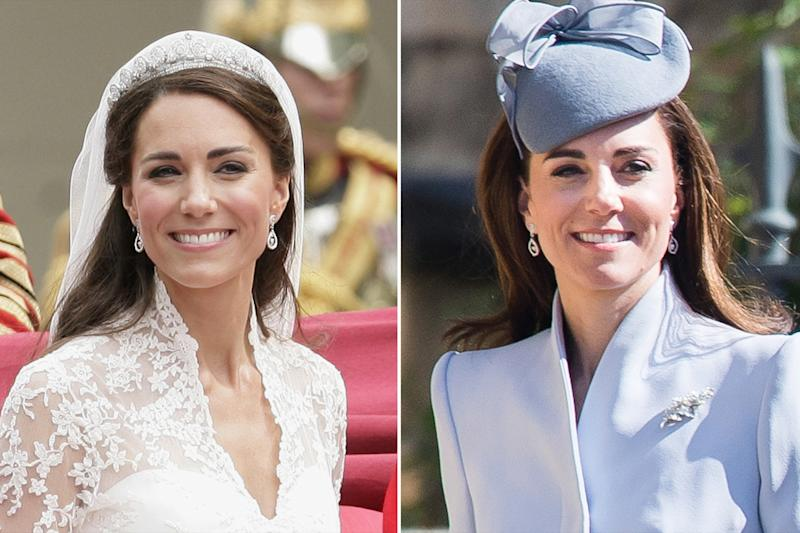 Kate Middleton Wore Something from Her Wedding Day to Easter Services — and You Probably Missed It