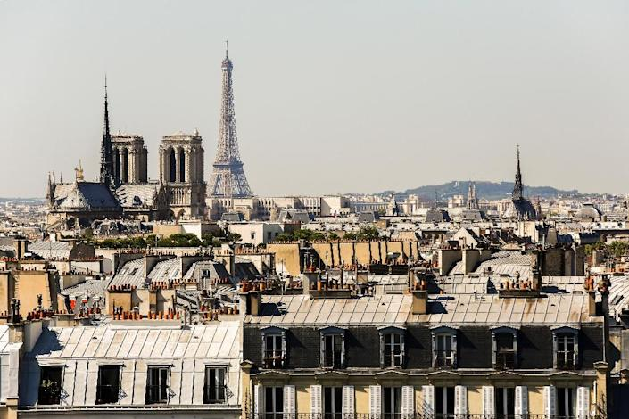A view of Paris, September 10, 2015, where Swiss art dealer Yves Bouvier was charged with stealing paintings by Pablo Picasso (AFP Photo/Florian David)