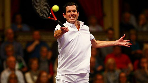 Henman. Image: Getty