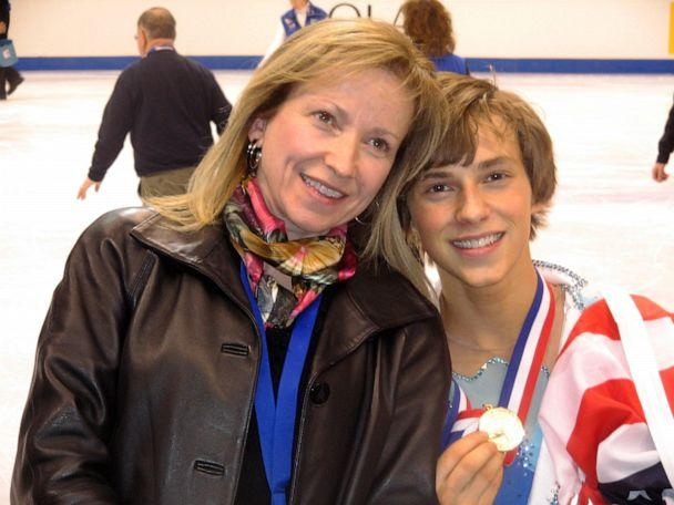 PHOTO: Kelly Rippon and Adam Rippon at the 2008 U.S. Figure Skating Championships. (Courtesy of Kelly Rippon)