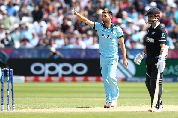Wood was the fastest bowler at this summer's World Cup