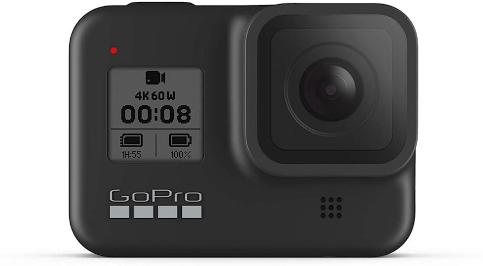 Save 19% on the GoPro HERO8 Black. Image via Amazon.