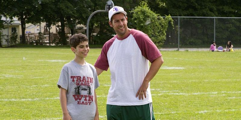 Cameron Boyce and Adam Sandler in 'Grown Ups' (Sony)