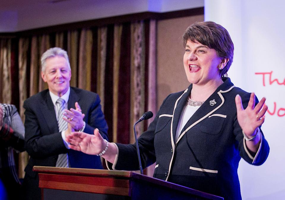 Ms foster was elected as leader of the DUP in 2015PA Archive