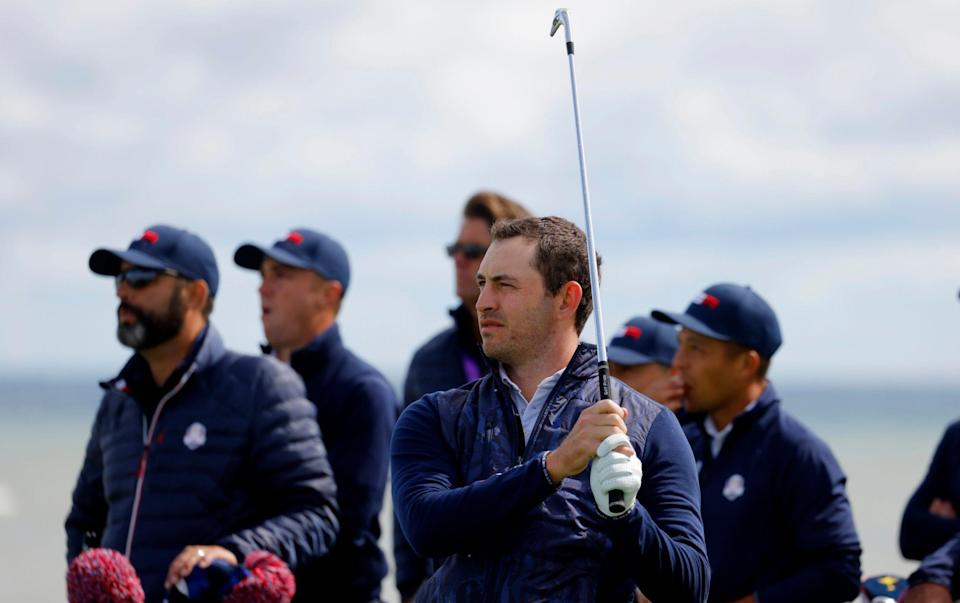 Patrick Cantlay is playing in his first Ryder Cup - REUTERS