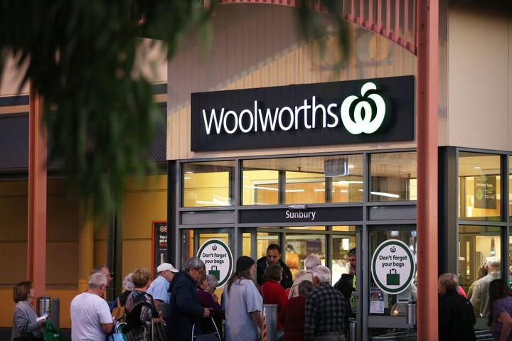 Across Australia 41 stores have reduced their hours to help deliveries to some of Woolworths most vulnerable customers. Source: Getty