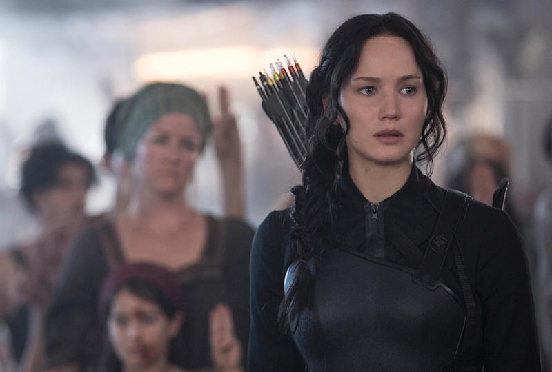 The Hunger Games Mockingjay Part 1-Jennifer Lawrence