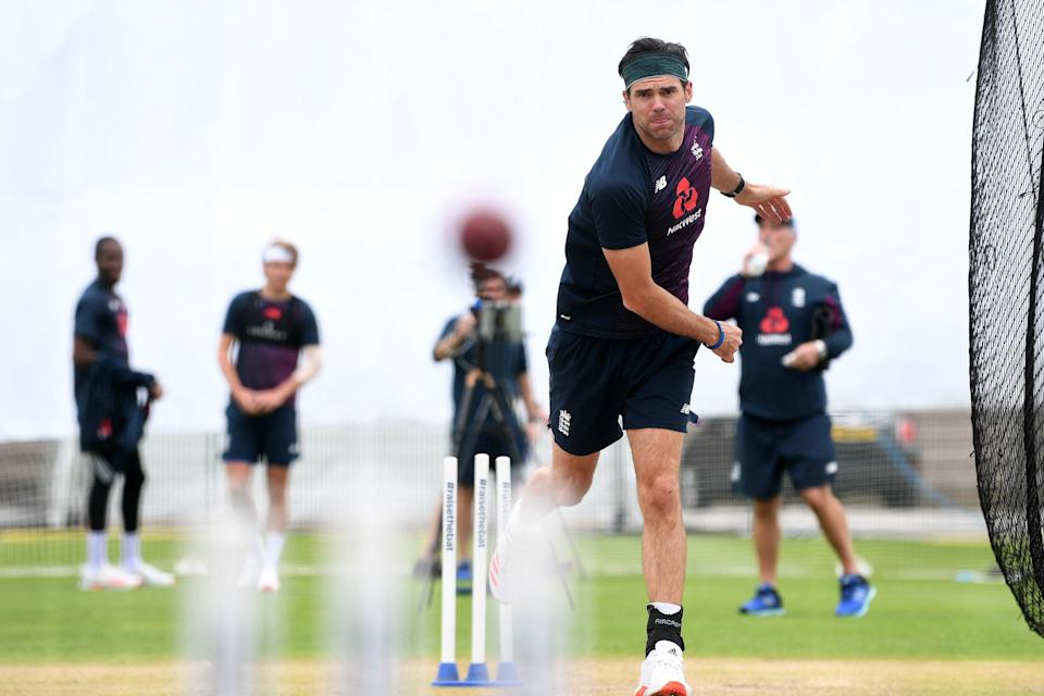 <p>James Anderson looks certain to start England's day-night Test against India</p> (Getty Images)
