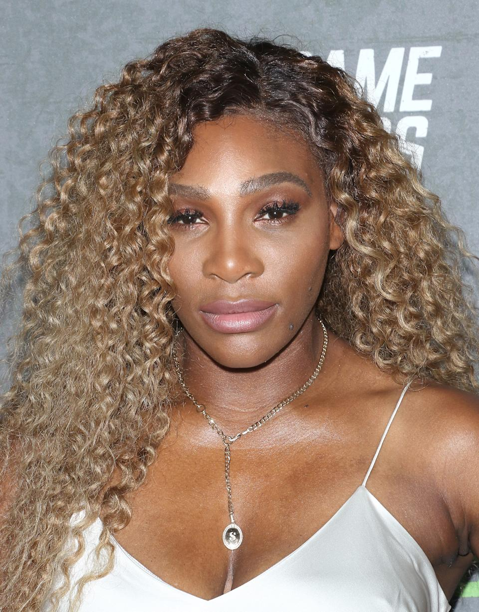 Serena Williams shared some adorable photos of daughter Alexis Olympia Ohanian Jr. from her duties as a flower girl at a friend's wedding. (Photo: Jim Spellman/Getty Images)