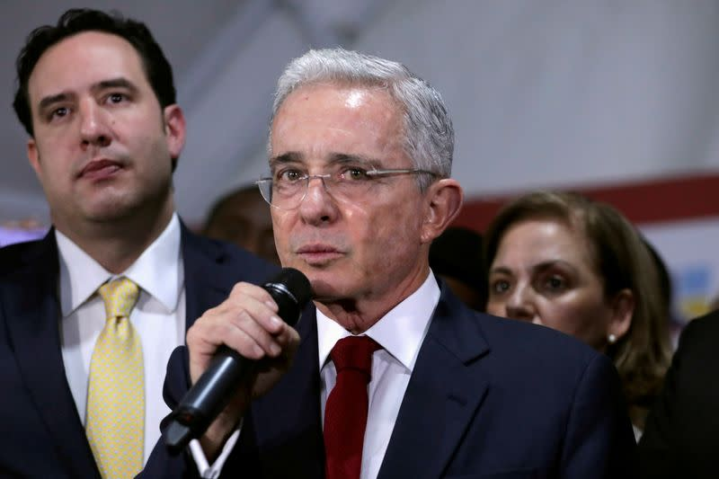 Colombia court transfers case against ex-president Uribe to attorney general
