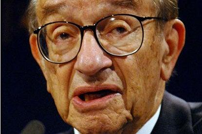 """Seeds of recovery"": Alan Greenspan said rising share prices should restore confidence in the markets and stimulate growth"