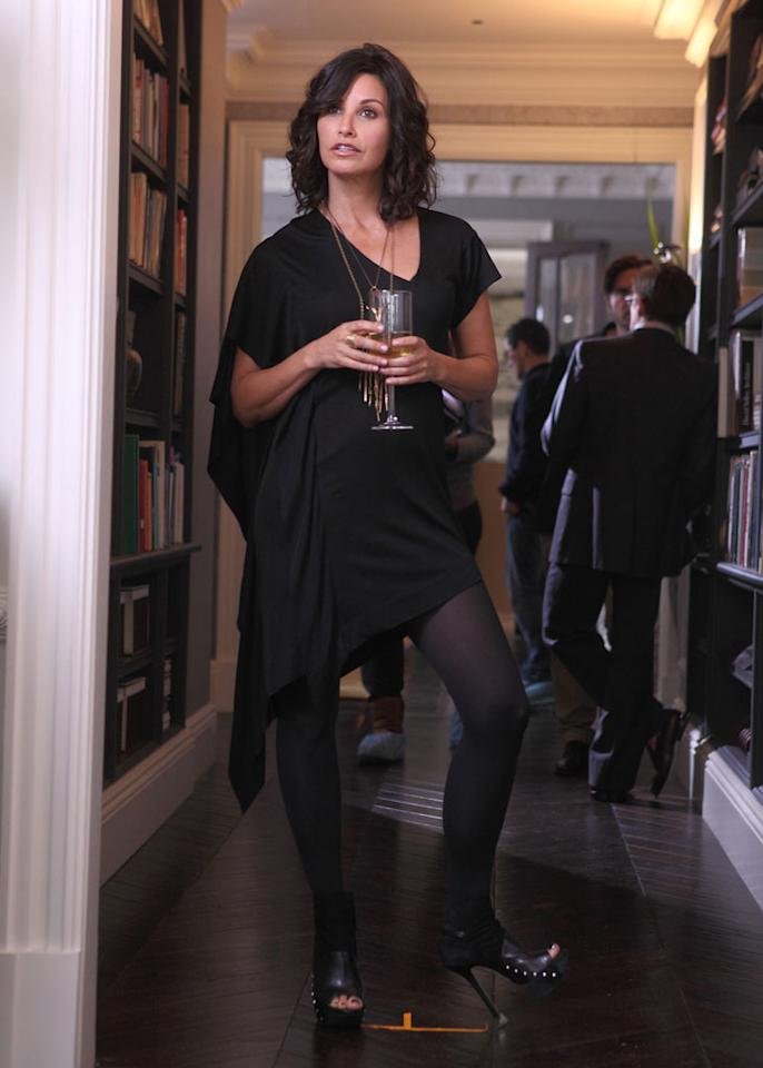 """Gina Gershon in """"How to Make It in America."""""""