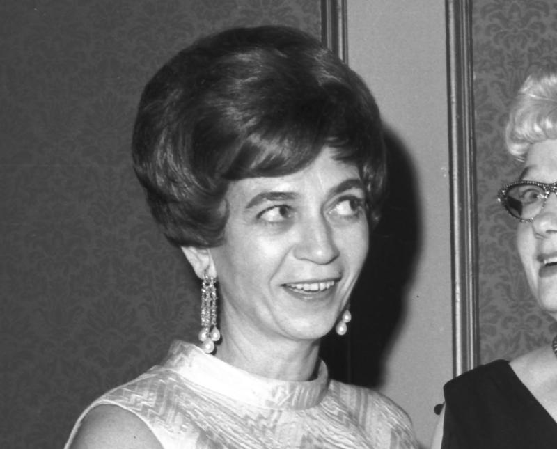 """This Oct. 20, 1967 file photo shows NBC critic Judith Crist at the Front Page Awards presented by the Newspaper Women's Club of New York in New York.  Crist, a blunt and popular film critic in the 1960s, '70s and '80s, died Tuesday, Aug. 7, 2012 at her Manhattan home. She was 90. She was a reviewer for the """"Today"""" show, TV Guide and the New York Herald Tribune whose comments were at times so harsh that director Otto Preminger labeled her """"Judas Crist."""" (AP Photo, file)"""