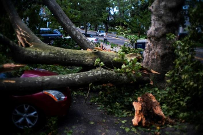 New Jersey was one of the states badly hit by the storm (AFP Photo/EDUARDO MUNOZ ALVAREZ)