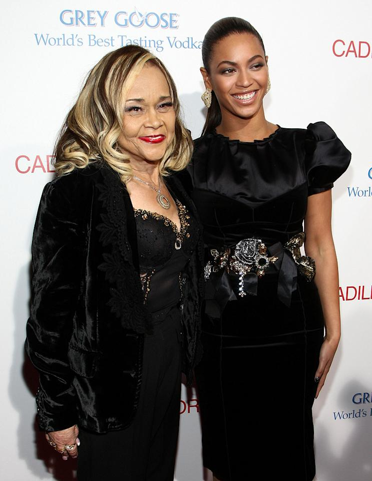 """<a href=""""http://movies.yahoo.com/movie/contributor/1800030400"""">Etta James</a> and <a href=""""http://movies.yahoo.com/movie/contributor/1804705859"""">Beyonce Knowles</a> at the Los Angeles premiere of <a href=""""http://movies.yahoo.com/movie/1810003875/info"""">Cadillac Records</a> - 11/24/2008"""