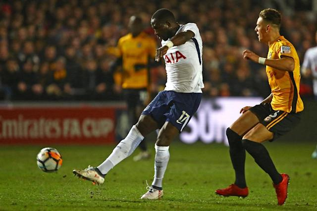 Tottenham midfielder Moussa Sissoko faces a battle to make France's World Cup squad (AFP Photo/Geoff CADDICK)