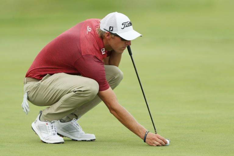 Richy Werenski birdied three of the last four holes to share the lead with fellow American Michael Thompson after 54 holes at the US PGA 3M Open
