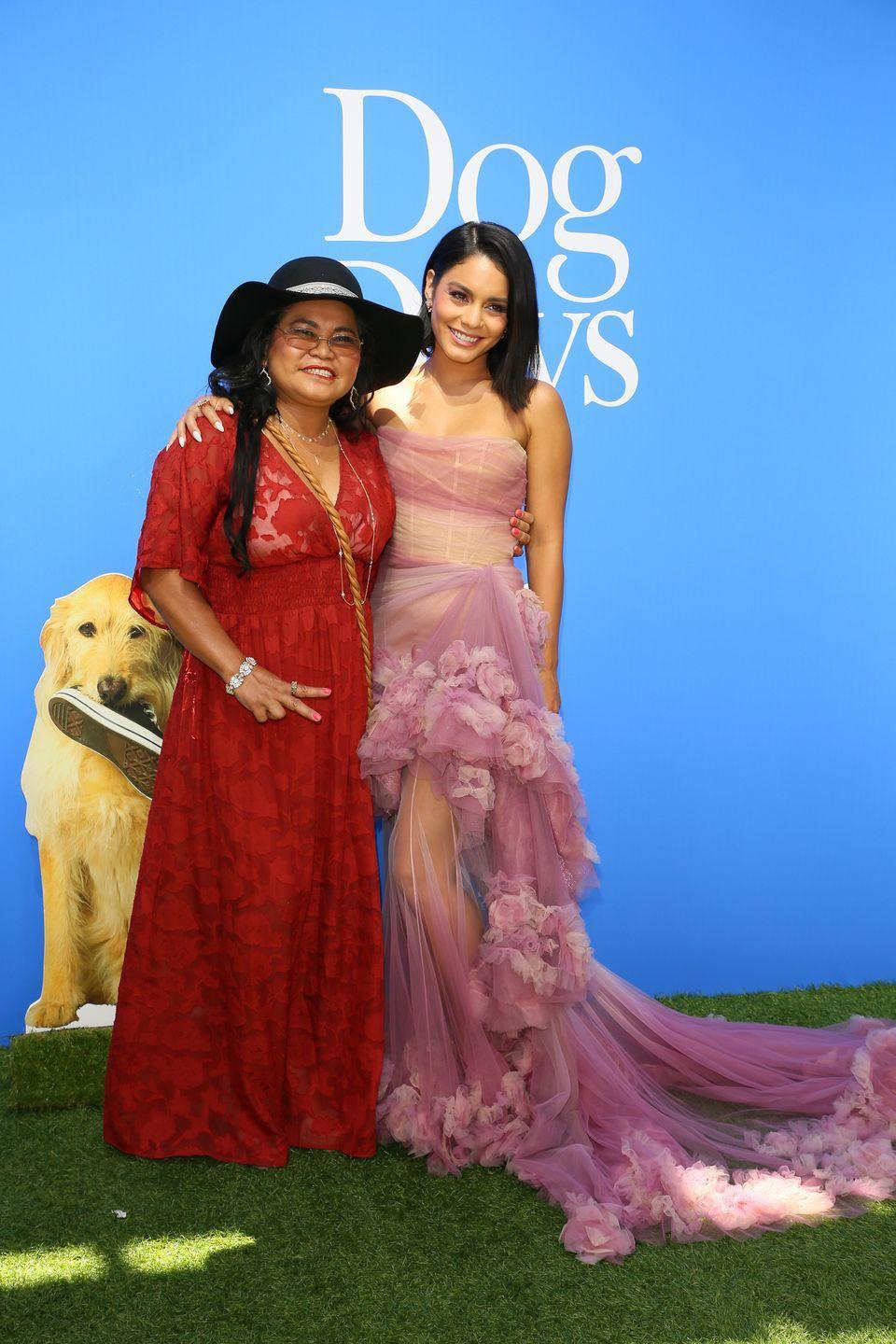 "<p>""<a href=""https://www.allure.com/gallery/vanessa-hudgens"" rel=""nofollow noopener"" target=""_blank"" data-ylk=""slk:I love her"" class=""link rapid-noclick-resp"">I love her </a>to death. She's the sweetest, happiest woman I've ever met, the most free-spirited, delightful person, and I aspire to be just like her. The older I get, the more I find myself like my mom. She just has the best outlook.""</p>"