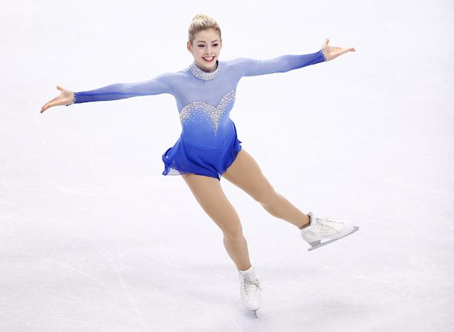 BOSTON, MA - JANUARY 11: Gracie Gold competes in the free skate program during the 2014 Prudential U.S. Figure Skating Championships at TD Garden on January 11, 2014 in Boston, Massachusetts. (Photo by Jared Wickerham/Getty Images)