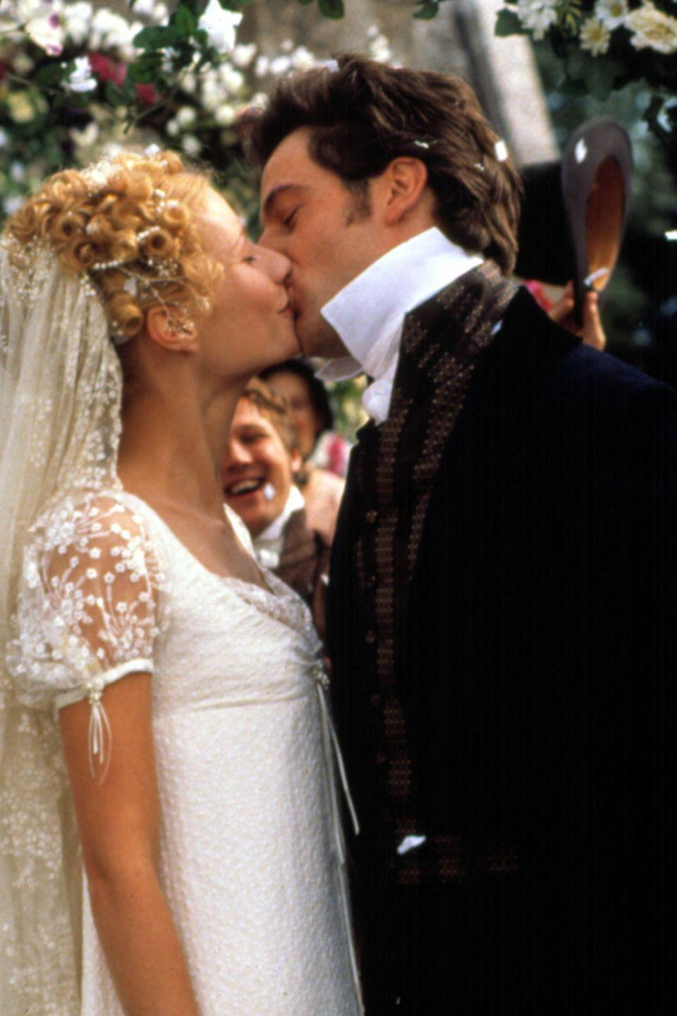 <p>We were <em>happy</em> when Emma Woodhouse finally wed Jeremy Northam. But we were <em>overjoyed</em> with the cap-sleeve and empire-waist wedding gown Gwyneth Paltrow got to wear for the occasion.<br></p>