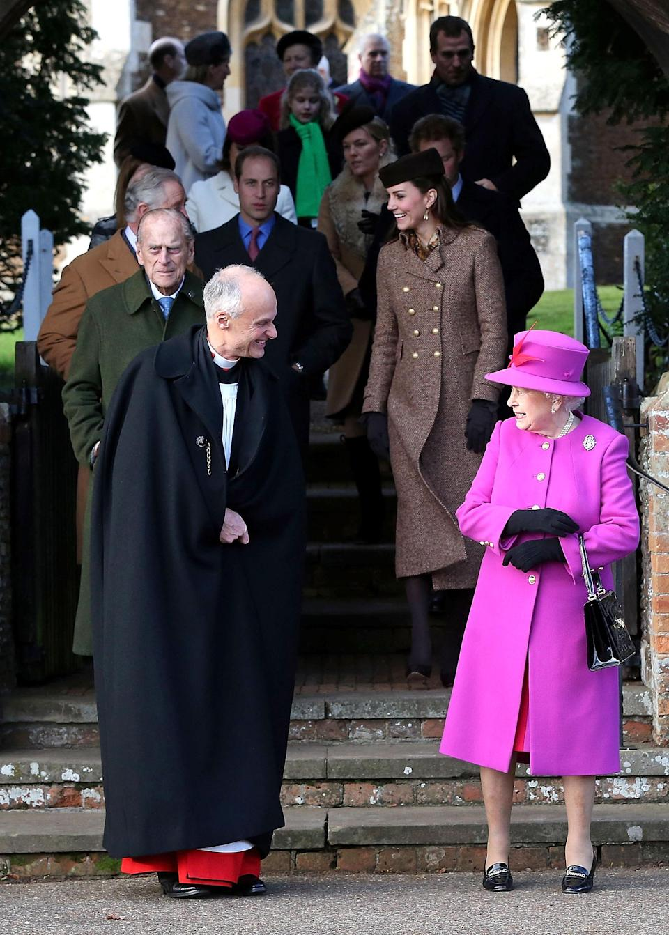 The royal family hold a three-day celebration over the festive period [Photo: Getty]