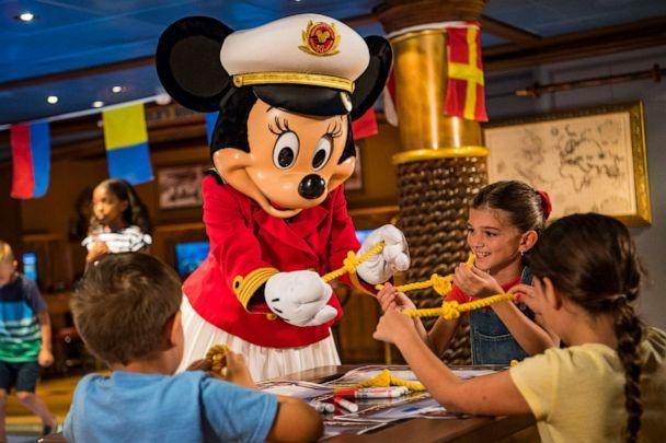 PHOTO: On board Disney Cruise Line ships later this year, Captain Minnie Mouse will appear in an all-new youth activity where young captain hopefuls practice STEM (science, technology, engineering and math) skills. (Disney Cruise Line)