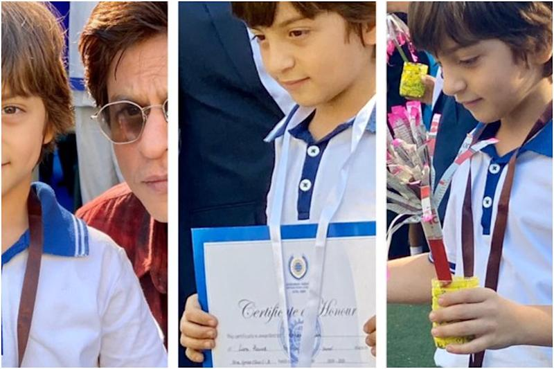 Shah Rukh Khan is a Proud Daddy as Son AbRam Wins Silver and Bronze Medals at the Races