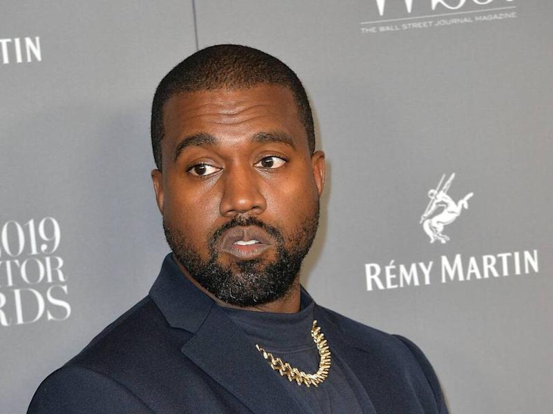 Kanye West urinates on Grammy Award as he fights for record label release