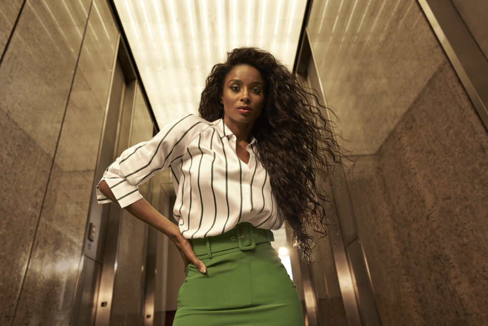 Ciara says the launch of this collection is among her proudest fashion moments. (Photo: Kohl's)