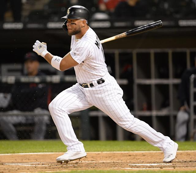 Yoan Moncada is one of many intriguing fantasy assets on the Chicago White Sox. (Photo by Ron Vesely/MLB Photos via Getty Images)