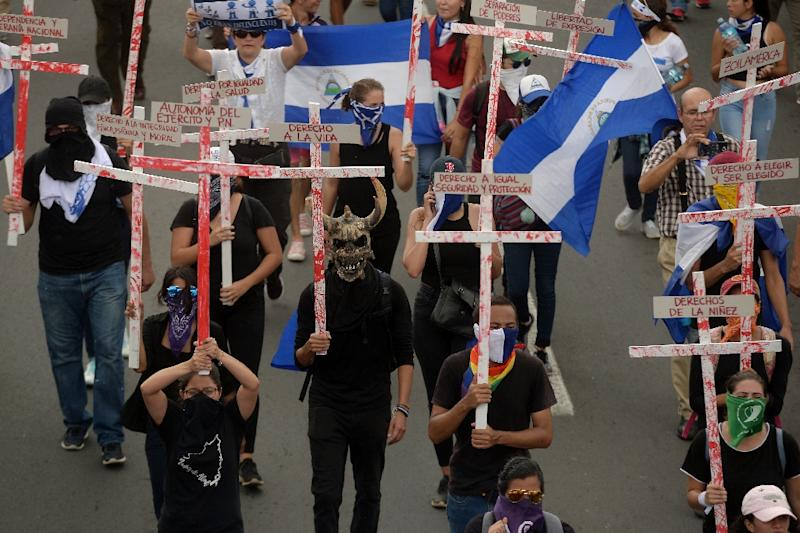 Protests erupted in Nicaragua on April 18, initially against now-scrapped pension reform