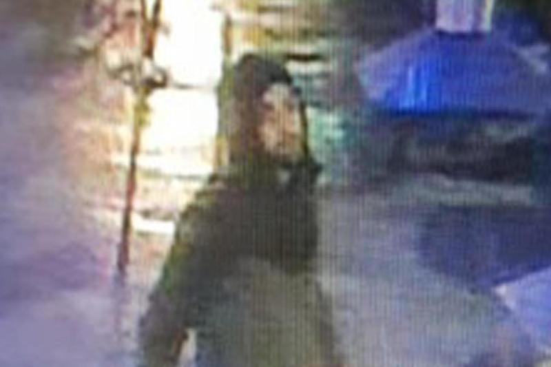 Police released CCTV of a man wanted in connection with the assault