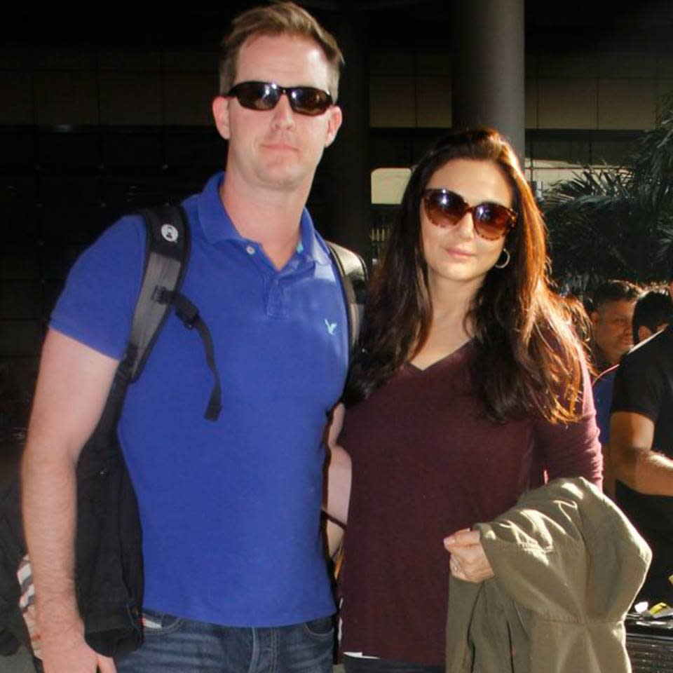 <p>After a public and bitter break-up with long time beau Ness Wadia. The Kal Ho Na Ho actress had almost disappeared. Her come-back movie was met with huge failure and she retracted from the limelight again, only to return with the news of her tying the knot. Preity met Gene on an LA trip and the two hit it off instantly. They also got married in Los Angeles in a Hindu wedding ceremony in February 2016. </p>